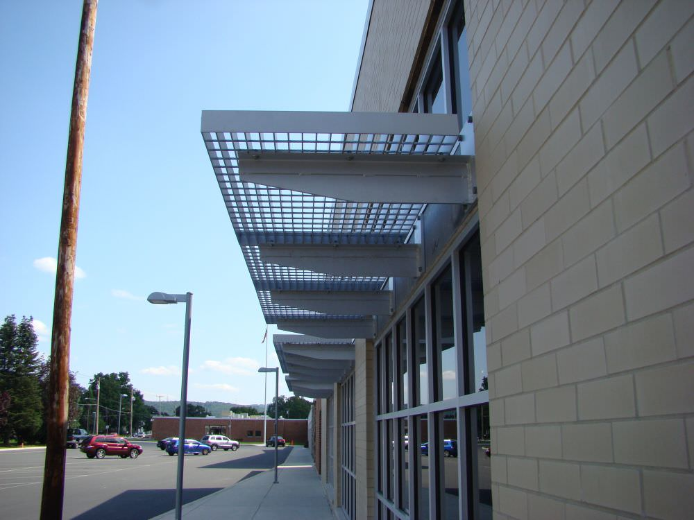 104 Sunshade @ East Stroudsburg HS in Pa.DSC01642 & Sunshade Canopy | Ametco Manufacturing