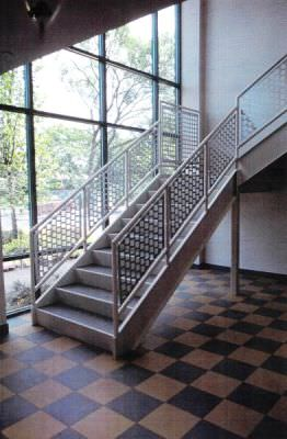 Perforated Metal Railing Systems Steel Fence Gates