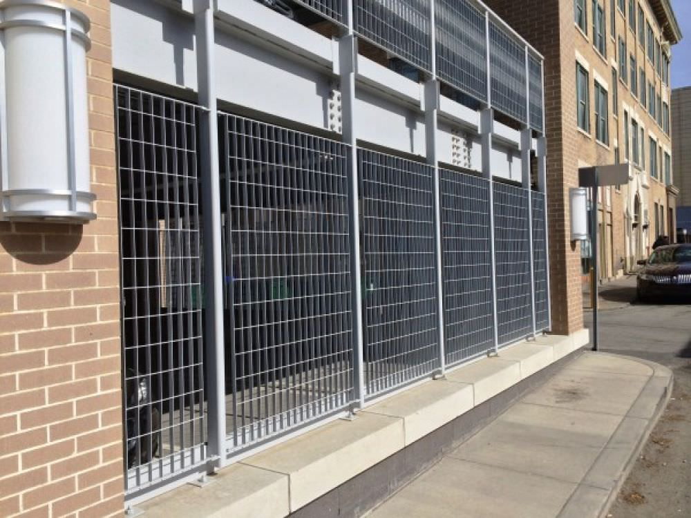 Fantastic ametco wire mesh fence panels gallery for Garage fence