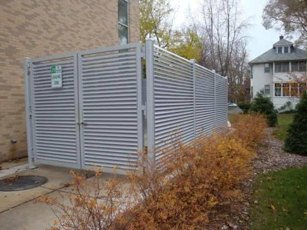 Trash Enclosure Gates Steel Fence Gates Aluminum Fence
