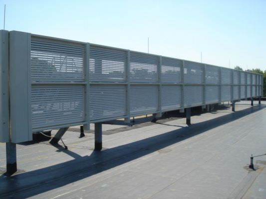 Mechanical Equipment Screens : Architectural screens ametco manufacturing