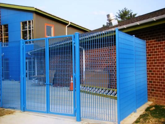 STEEL SECURITY FENCE & GATES