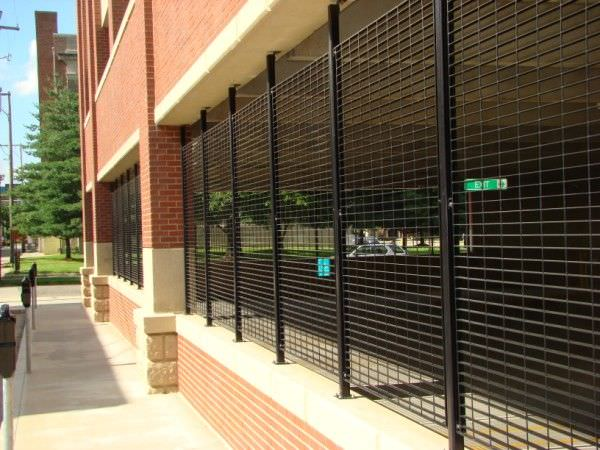 Architectural Security Grilles Steel Fence Gates