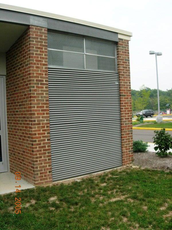 Louvers Steel Fence Gates Aluminum Fence Gates