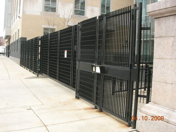 Steel Security Fence Steel Fence Gates Aluminum Fence