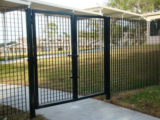 STEEL SECURITY FENCE AND GATES