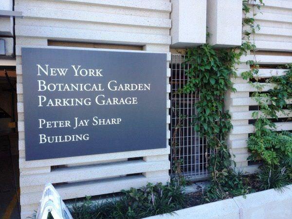 New York Botanical Garden Parking Garden Ftempo