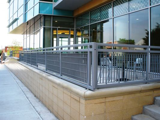 METRO DESIGN STEEL RAILINGS