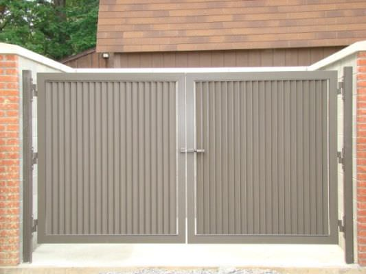 Products Steel Fence Gates Aluminum Fence Gates