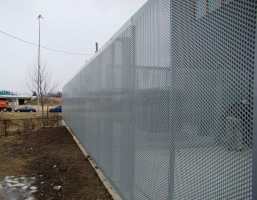 PERFORATED ALUMINUM FENCING