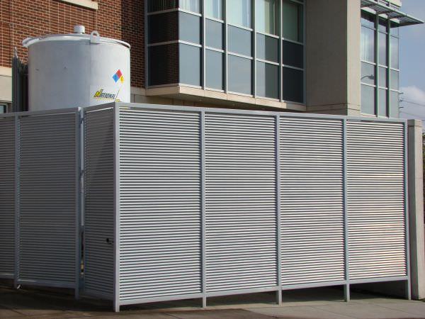 Trash Enclosures Steel Fence Gates Aluminum Fence