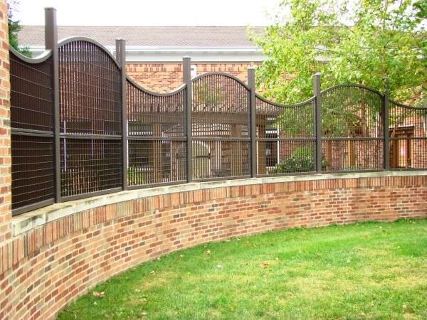 Steel Security Fence FenceGates Aluminum