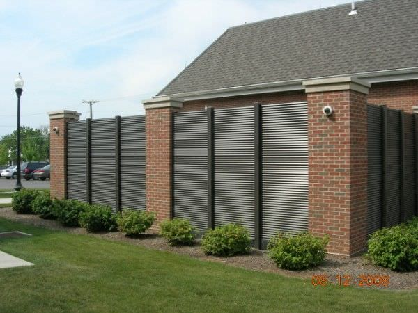 Trash Enclosures Steel Fence Gates Aluminum Fence