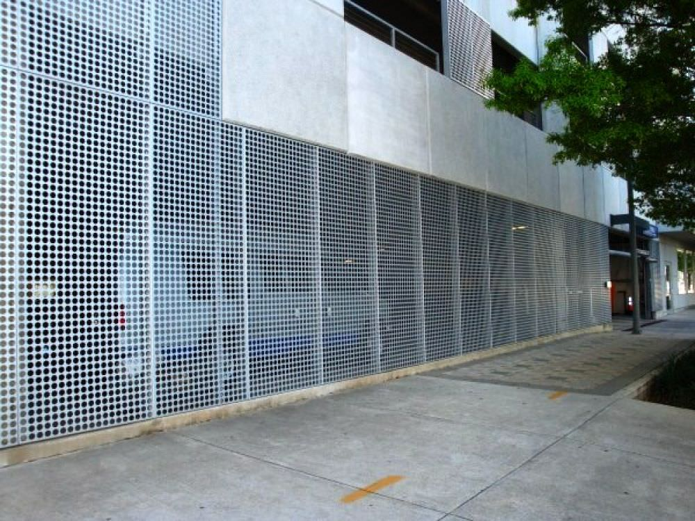 Perforated Metal Steel Fence Gates Aluminum Fence