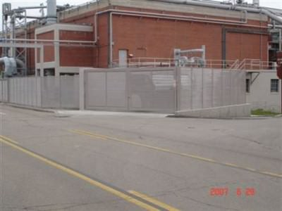 GALVANIZED STEEL FENCE