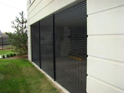 GALVANIZED STEEL GRILLE