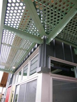 PERFORATED ALUMINUM