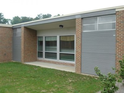 GALVANIZED STEEL FIXED LOUVER