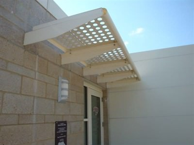 PERFORATED SUNSHADE