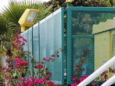 PERFORATED FENCE