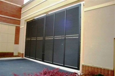 Venetian Design 30 FT. x 14 FT.Double Swing Gate @ The Avenue Forsyth Atlanta, Ga.